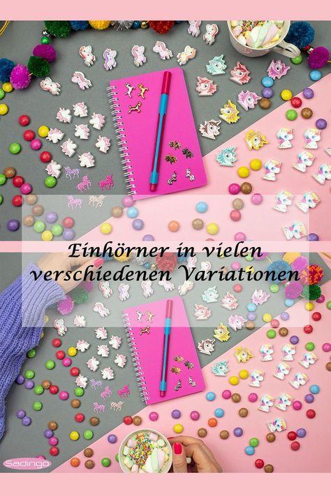 Photo of Schmuckverbinder Einhörner für Armbänder, Halsketten und anderen DIY Schmuck, Geschenke