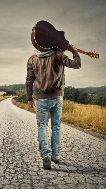 Free Guitar Man Wallpaper For Your Phone People Wallpaper Wallpapers Android Iphone Guitar Country Road Guitar Girl Man Photography Musician Portraits