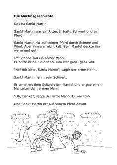 Sankt Martin Teddylingua Sankt Martin Kindergarten Herbstgeschichten St Martin Geschichte