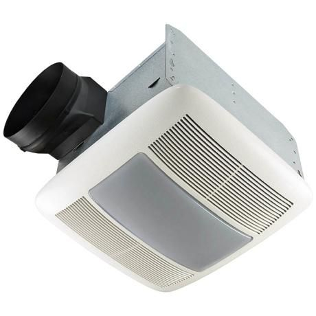Nutone 80 Cfm Energy Star Bathroom Fan Light Nightlight Powderroom Bathroom Exhaust Fan Bathroom Exhaust Bathroom Fan