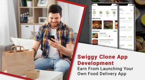 Invest And Encash From Our On-demand Swiggy Clone App In No Time