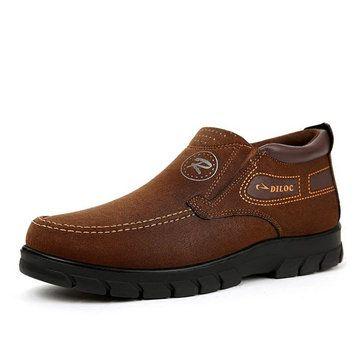 الرجال قديم نمط نسيج بكين مريح تنفس أحذية الكاحل Mens Casual Leather Shoes Boat Shoes Mens Mens Casual Shoes