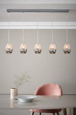 Buy Isla 5 Light Linear Pendant From The Next Uk Online Shop Linear Pendant Lighting Ceiling Pendant Lights Ceiling Lights