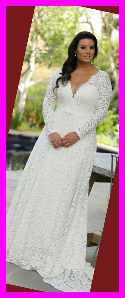 Cheap Plus Size Wedding Dresses Under 100 Plus Size Lace Wedding Dress With Long Sleeves A Best Wedding Dresses Plus Size Brides Wedding Dresses Under 100