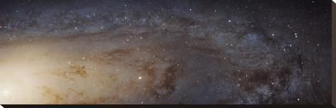 Hubble M31 Phat Mosaic Andromeda Panorama Stretched Canvas Print Art Com Andromeda Galaxy Space Telescope Hubble Pictures