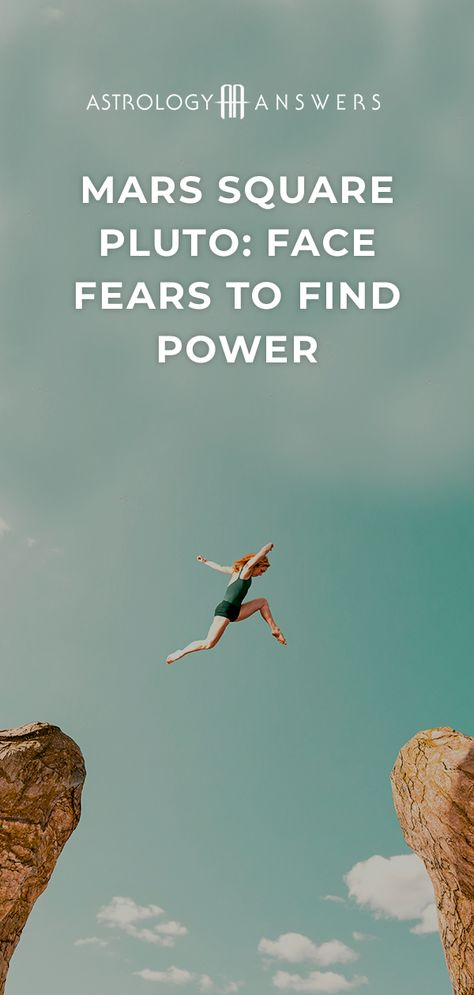 It's time to face your fears and find your power with Mars square Pluto! #marssquarepluto #mars #pluto #marsastrology #plutoastrology #astrologyanswers #astrology #planetaryastrology