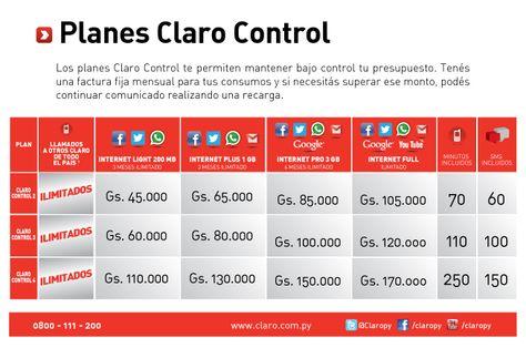 Con el Plan Control de Claro, tendrás más control en tu cuota - control plan