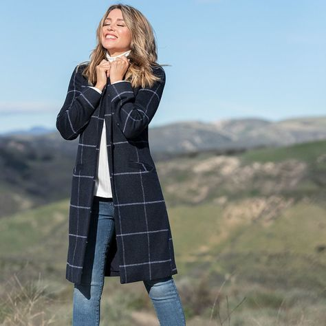 Dannii Minogue Petites Longline Check, Target Winter Coats Ladies