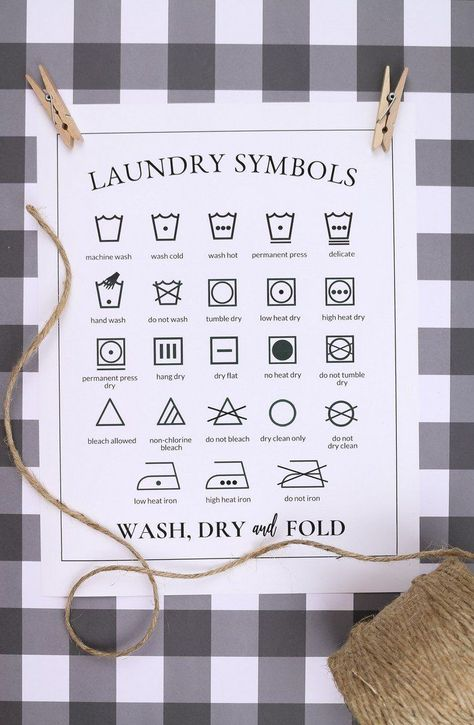 Printable Laundry Symbols Chart Crafts Mad In Crafts Chart Crafts