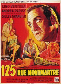 125 Rue Montmartre01 Lino Ventura Affiche Cinema Cinema