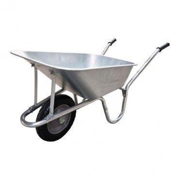 Taczka Ogrodowa Verve Ocynkowana 90 L Wheelbarrow Garden Tools Tools