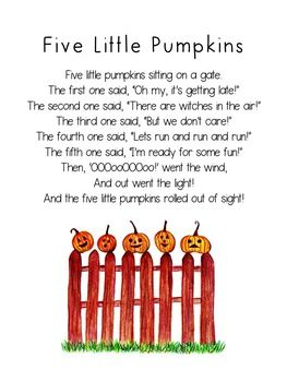 photograph regarding Five Little Pumpkins Poem Printable identify 5 Minor Pumpkins Printable Poem, Halloween Poetry for