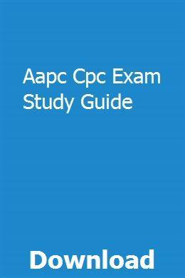 Aapc Cpc Exam Study Guide   ndexoustarne   Math study guide
