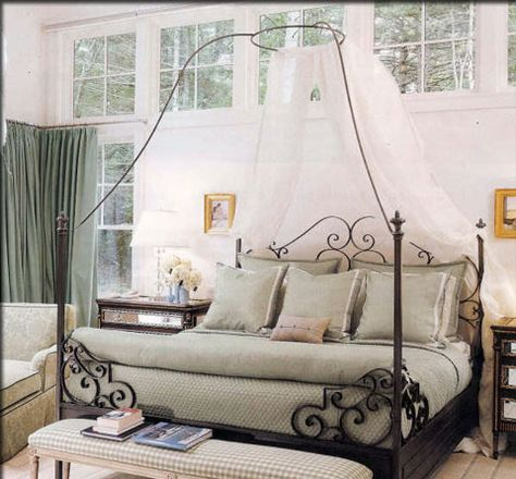 Own A King Size Wrought Iron Bed Iron Canopy Bed Wrought