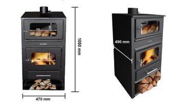 Piec Kominkowy Z Plaszczem Wodnym I Piekarnikiem 7155090493 Allegro Pl Home Appliances Wood Wood Stove