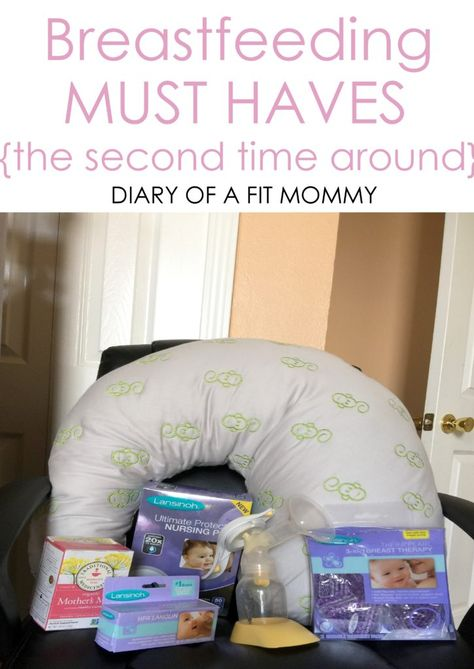 Breastfeeding Must Haves {The Second Time Around}