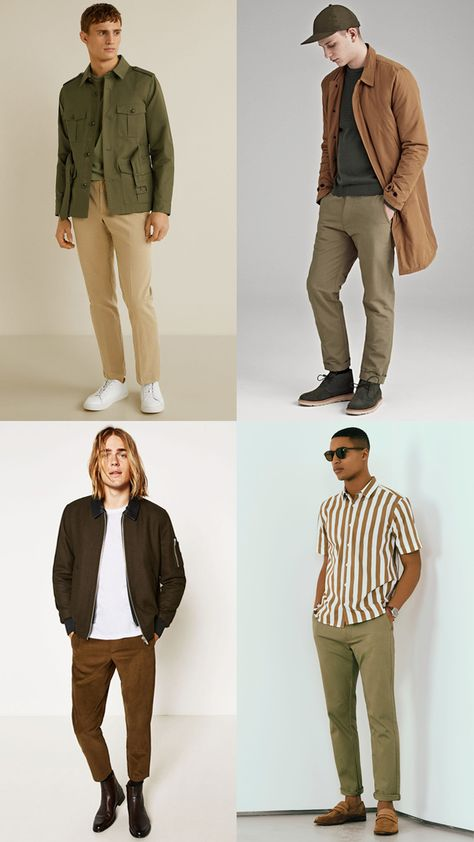 If monochrome was menswear's first all-neutrals obsession, earth tones are its second. From muted moss to khaki, sand to russet, this color palette is arguably one of the most versatile out there.