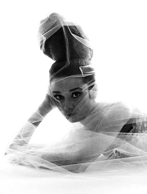 Audrey Hepburn by Bert Stern, 1963