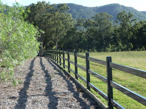 Farm Fencing Sydney Post Rail Fencing Build A Fence That Lasts Manufactured And Powder Coated At Our Plant In Penri Farm Fence Building A Fence Termites