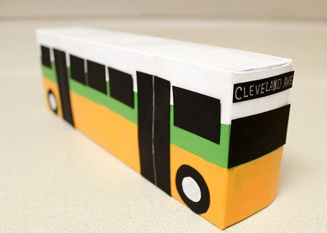 Rosa Parks Day Bus Craft With Images Black History Month