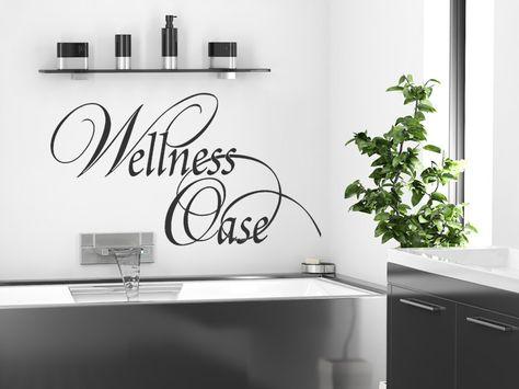 Wandtattoo Wellness Oase Haus Deko Wandtattoo Und Wandtattoo Badezimmer