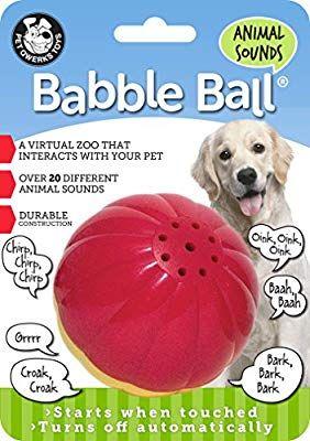 Pet Supplies Pet Toy Balls Pet Qwerks Animal Sounds Babble