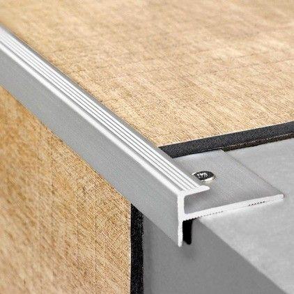 Profile D Escalier Click Alu Agt Livyn 2000x30x15mm En 2020 Revetement De Sol En Vinyle Escalier Escalier Stratifie