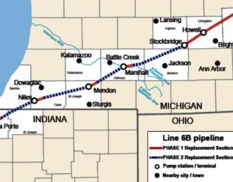 Judge Postpones Hearing To Halt Enbridge Pipeline Project Pipeline Project Hard Work And Dedication Michigan