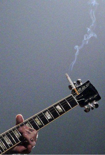 nicotine and music