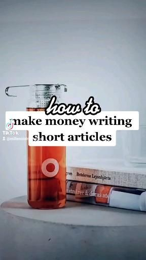 How to get paid to write short articles