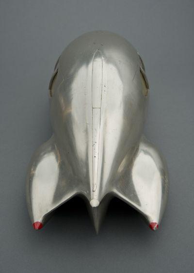 "Retronaut - Teardrop Car Car Number 9 ""Norman Bel Geddes (1893-1958 ..."