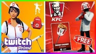 DARMOWY SKIN KFC GAMING?! NOWY ZESTAW TWITCH PRIME