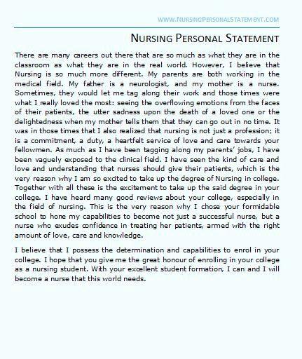 Personal Goal Statement Example Elegant Nursing Medical Mission For Career Portfolio Examples