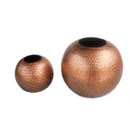 17 Best Metal Flower Vases Images On Pinterest Bulb Vase Flowers