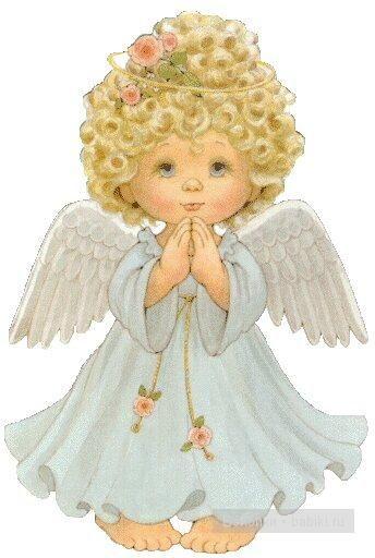 Картинки анимашки ангелочек