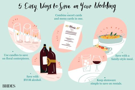 50 Easy Ways to Save $500 on Your Wedding