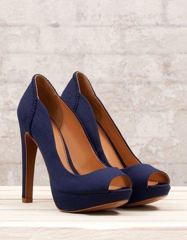 Chaussures à talon plateforme basiques