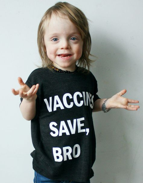 Vaccines Save, Bro (Black) | Wire and Honey #provax #vaccines #provaccine