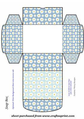 caja con patron papiloflexia y origami pinterest box craft