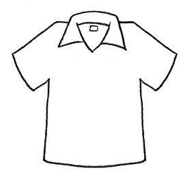 Menta Mas Chocolate Recursos Y Actividades Para Educacion Infantil Dibujos Para Colorear De Camisetas En 2020 Dibujo De Camisa Dibujos Para Colorear Actividades