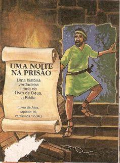 Turma Do Vovo Abraao Paulo E Silas Uma Noite Na Prisao Livro