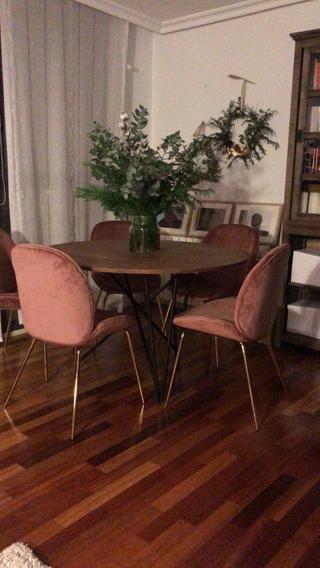 Mesa redonda salón estilo industrial de segunda mano por 120 € en ...