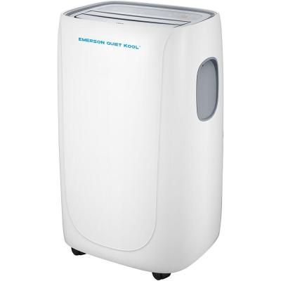 Emerson Quiet Kool 8000 Btu 5000 Btu Doe Smart Portable Air Conditioner With Remote Wi Fi And Voice Control For Rooms Up To 300 Sq Ft Eapc8rsd1 The Home Portable Air Conditioner