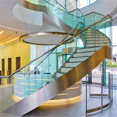 Curved Staircase Curved Stair Demax Arch Curved Staircase Stair Railing Building Stairs