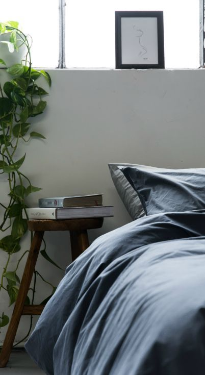 Navy Bedding For A Masculine Bedroom The Good Sheet