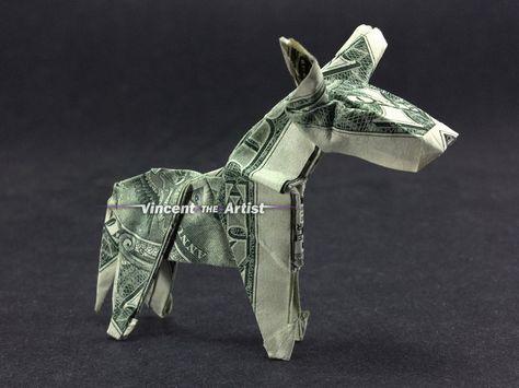 DONKEY Dollar Origami
