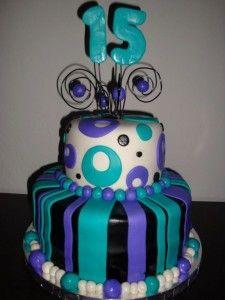 birthday cake 15 year old K8 Pinterest 15 years Birthday