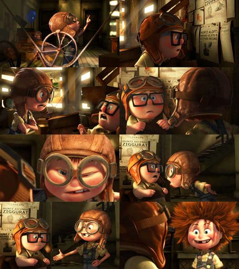 Carl and Ellie <3 - Imgur