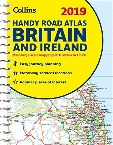 Map Of Ireland Book.Download 2019 Collins Handy Road Atlas Britain Collins Road Atlas
