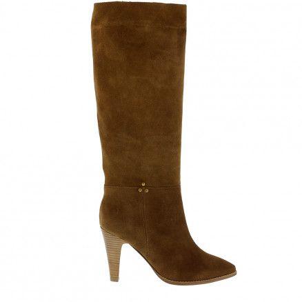 Jerome Dreyfuss hoge laarzen Sabrina 95 35SAB95CR cognac